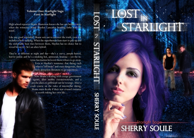 Lost in Starlight - FULL Print Cover- Book